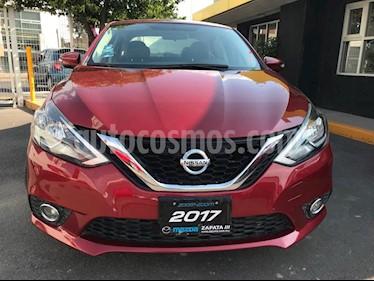 Nissan Sentra Advance usado (2017) color Rojo precio $190,000