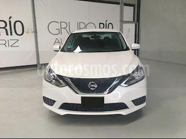Nissan Sentra Sense Aut usado (2018) color Blanco precio $209,000