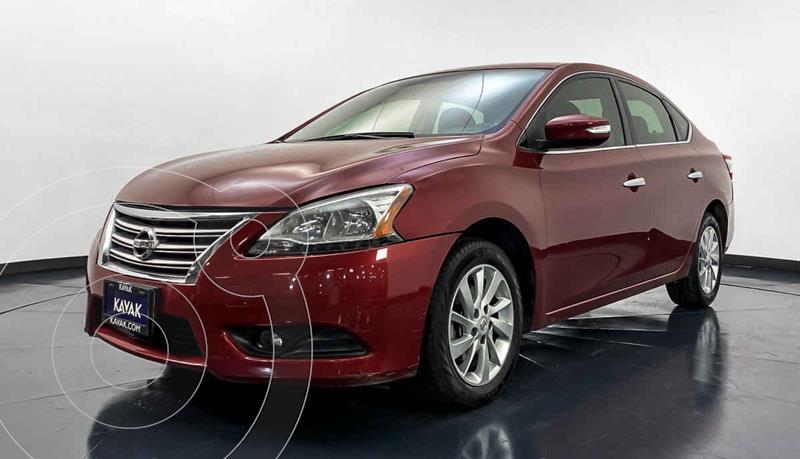 Nissan Sentra Advance Aut usado (2015) color Rojo precio $164,999