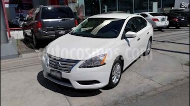 Nissan Sentra 4p Sense L4/1.8 Aut usado (2016) color Blanco precio $180,000
