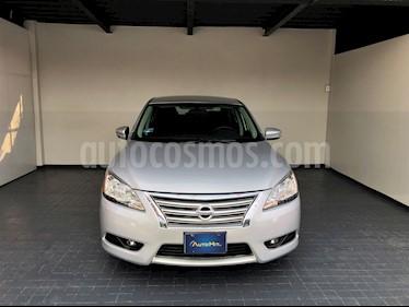 Nissan Sentra Sense Aut usado (2016) color Plata precio $182,000