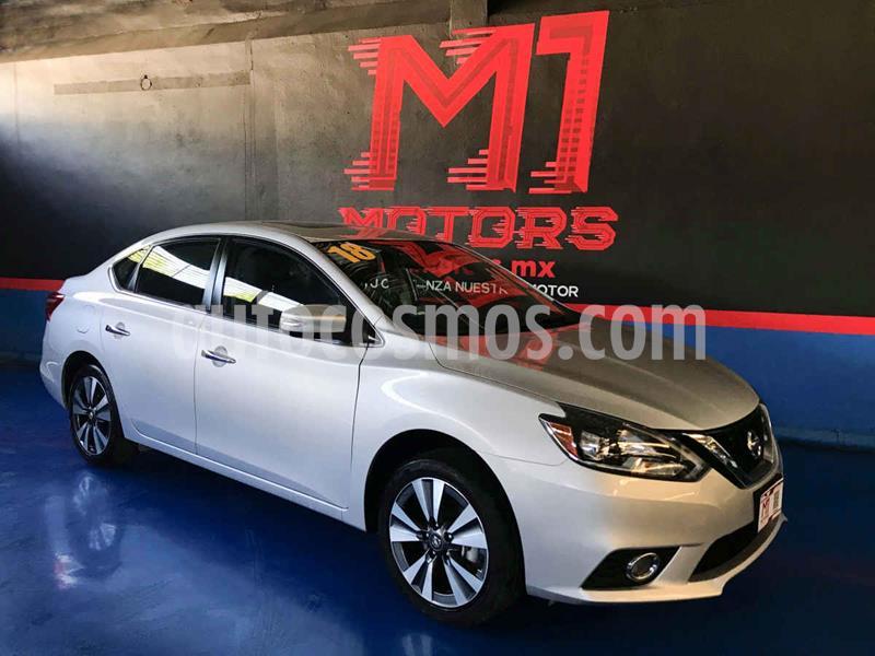 Nissan Sentra Exclusive Aut NAVI usado (2018) color Plata precio $252,900