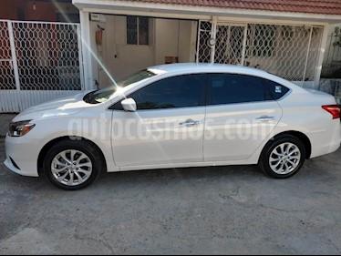 Nissan Sentra Sense usado (2018) color Blanco precio $210,000