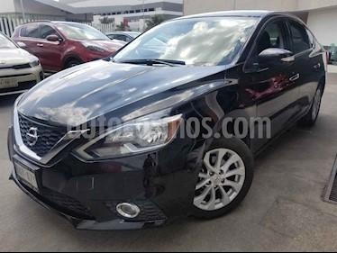 Nissan Sentra 4p Advance L4/1.8 Aut usado (2017) color Negro precio $220,000