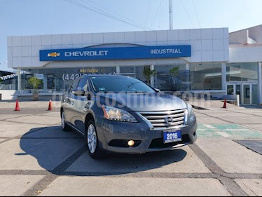 foto Nissan Sentra Advance usado (2016) color Gris Oxford precio $173,000