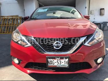 Nissan Sentra Advance usado (2017) color Rojo precio $195,800