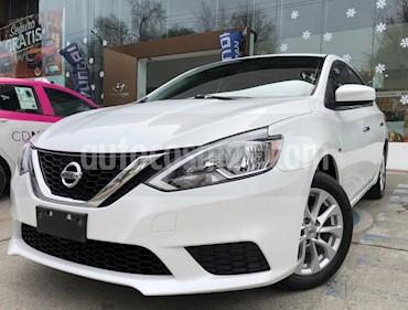 Nissan Sentra Sense usado (2017) color Blanco precio $170,000