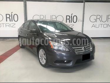 Nissan Sentra Exclusive NAVI Aut usado (2013) color Gris precio $149,000
