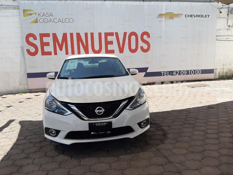 Nissan Sentra Advance usado (2019) color Blanco precio $270,000