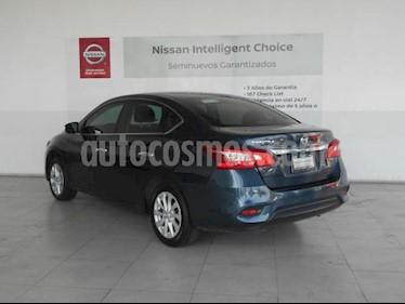Foto Nissan Sentra 4P SENSE L4/1.8 MAN usado (2016) color Azul precio $175,000