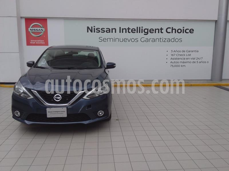 Nissan Sentra Advance usado (2019) color Azul precio $270,000