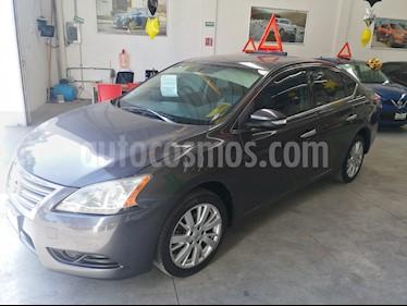 Nissan Sentra Exclusive Aut usado (2013) color Acero precio $160,000