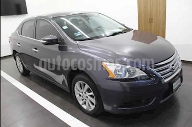 Nissan Sentra Advance Aut usado (2016) color Gris precio $185,000