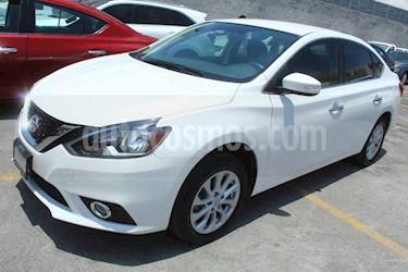 Nissan Sentra 4p Advance L4/1.8 Aut usado (2018) color Blanco precio $229,000