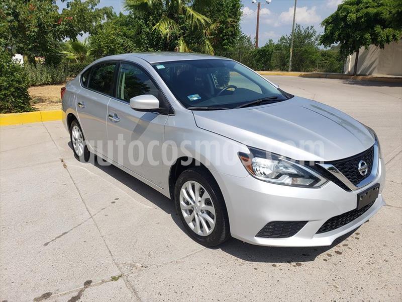 Nissan Sentra Sense Aut usado (2018) color Plata precio $198,000