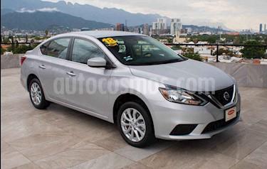 Nissan Sentra Sense Aut usado (2018) color Plata precio $214,700