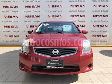 Nissan Sentra Custom CVT Xtronic usado (2012) color Rojo Burdeos precio $125,000