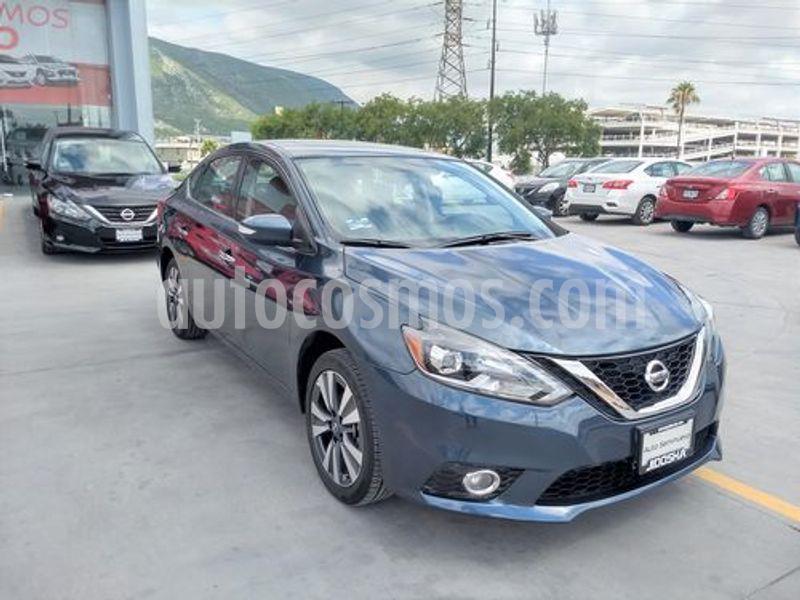 Nissan Sentra Exclusive NAVI Aut usado (2017) color Azul precio $243,900