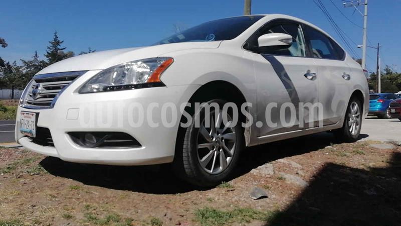 Nissan Sentra Advance usado (2015) color Blanco precio $143,000