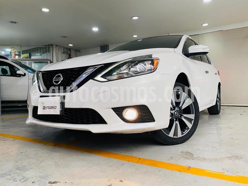 Nissan Sentra Exclusive Aut  usado (2017) color Blanco precio $229,000