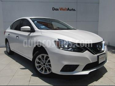 Nissan Sentra Sense Aut usado (2018) color Blanco precio $205,000