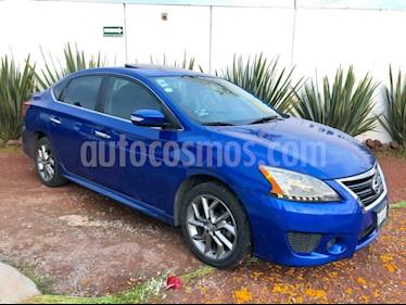 Foto Nissan Sentra SR Aut NAVI usado (2016) color Azul precio $205,990