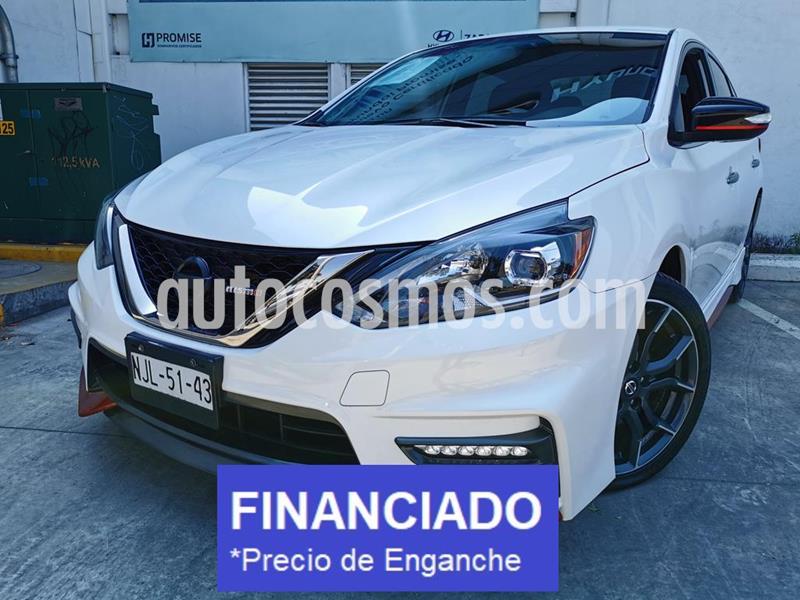 Nissan Sentra Nismo usado (2019) color Blanco precio $78,000