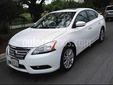 Nissan Sentra Exclusive Aut usado (2015) color Blanco precio $165,000