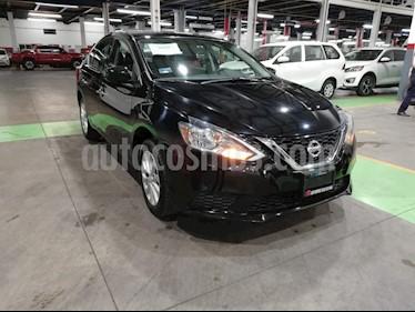 Nissan Sentra Sense Aut usado (2017) color Negro precio $219,000