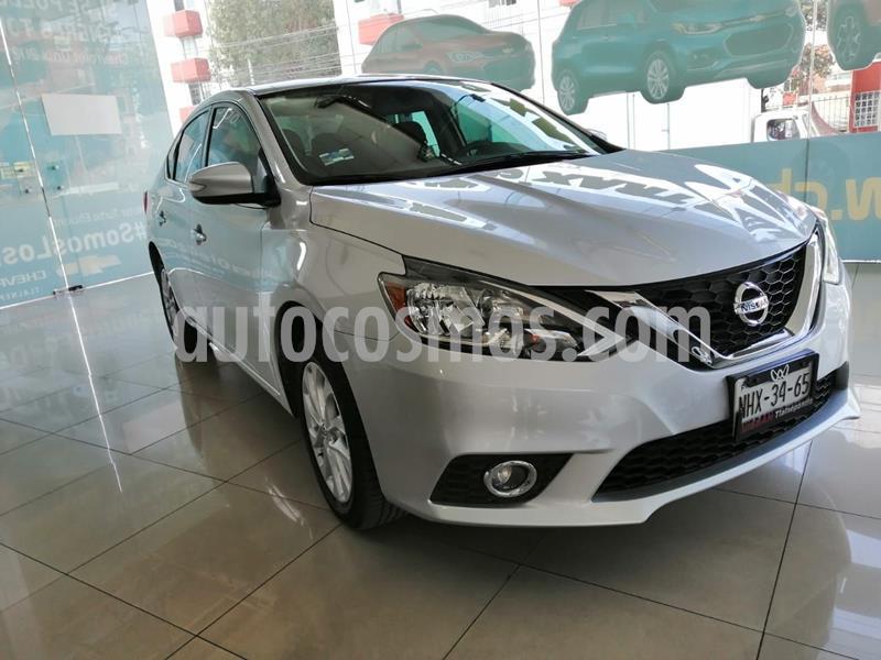 Nissan Sentra Sense usado (2018) color Plata Dorado precio $240,000