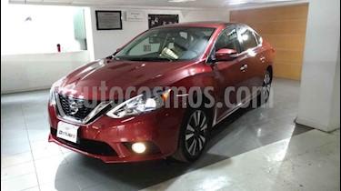 Nissan Sentra 4p Exclusive L4/1.8 Aut Nave usado (2018) color Rojo precio $269,000