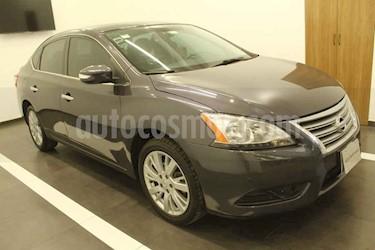Nissan Sentra 4p Exclusive L4 1.8 CVT usado (2013) color Gris precio $156,000