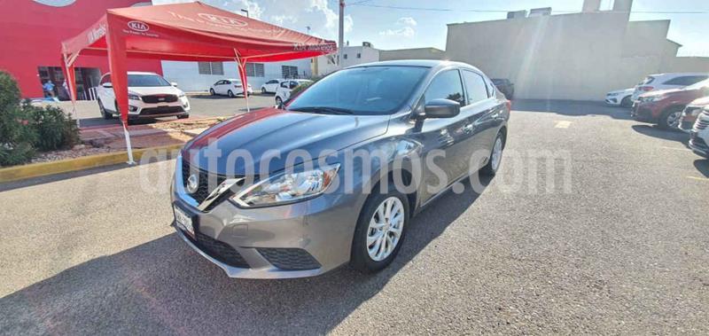 Nissan Sentra Sense Aut usado (2018) color Gris precio $225,000
