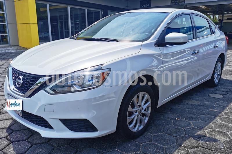 Nissan Sentra Sense usado (2017) color Blanco precio $190,000