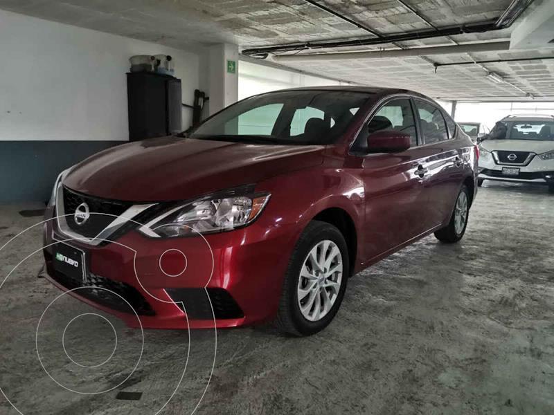 Foto Nissan Sentra Sense usado (2018) color Rojo precio $205,000