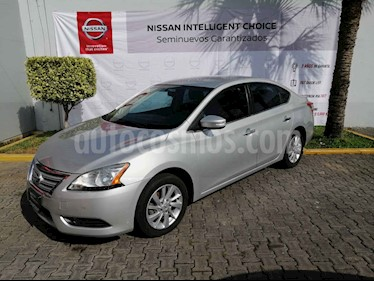 Nissan Sentra Advance usado (2014) color Plata precio $155,000