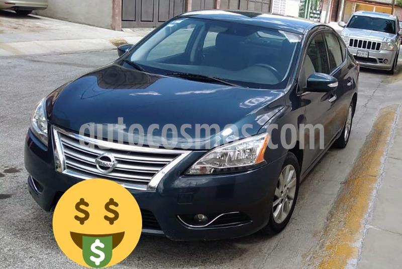 Nissan Sentra Advance Aut usado (2015) color Azul precio $150,000