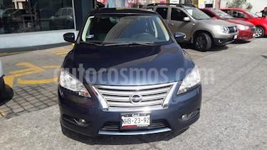 Nissan Sentra Exclusive Aut  usado (2016) color Azul Oriental precio $175,000
