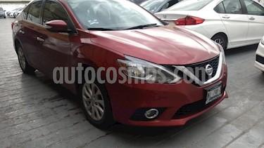 Nissan Sentra 4P ADVANCE TM6 A/AC. F. NIEBLA RA-16 usado (2017) color Rojo precio $198,000