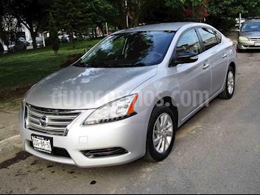 Nissan Sentra Sense usado (2015) color Plata precio $149,000
