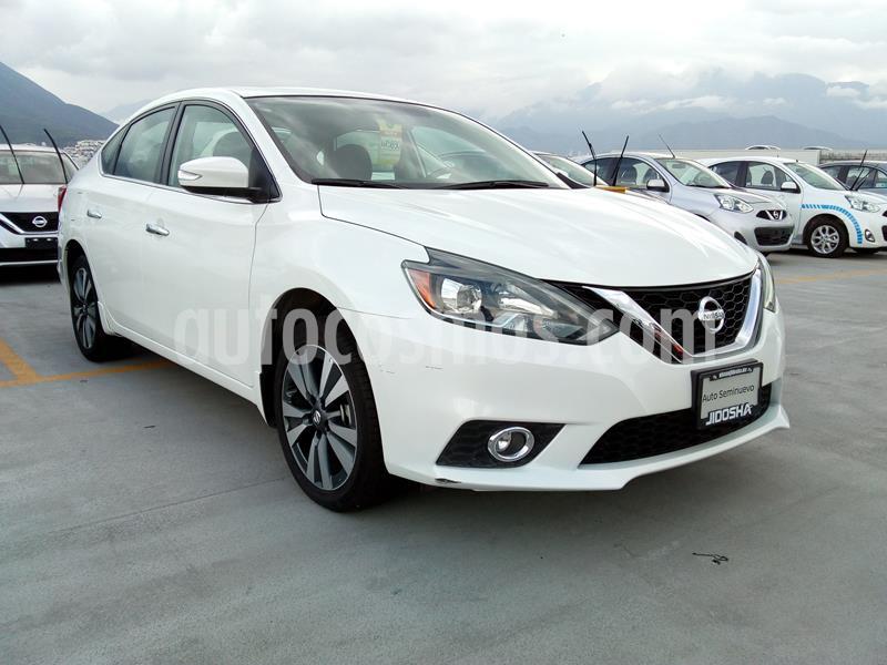 Nissan Sentra Exclusive Aut usado (2019) color Blanco precio $353,141