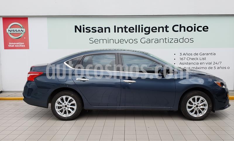 foto Nissan Sentra Sense usado (2019) color Azul precio $229,000