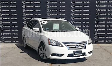 Nissan Sentra Exclusive NAVI Aut usado (2016) color Blanco precio $245,200