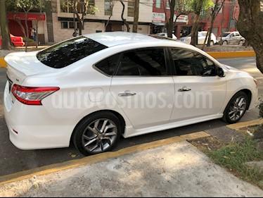 Nissan Sentra SR NAVI Aut usado (2015) color Blanco precio $185,000