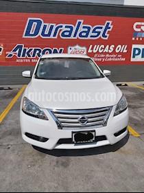 Nissan Sentra Sense usado (2016) color Blanco Perla precio $150,000