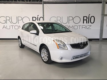 Nissan Sentra Custom usado (2011) color Blanco Perla precio $98,000