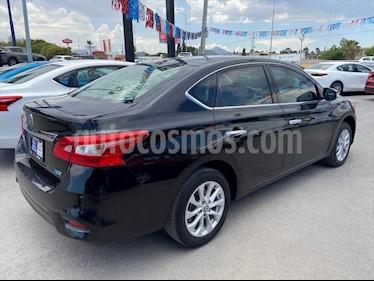 Nissan Sentra 4P ADVANCE L4/1.8 AUT usado (2017) color Negro precio $196,000