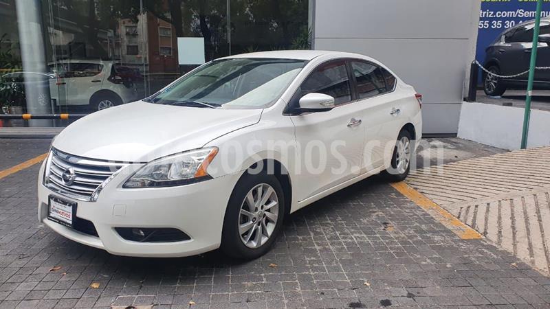 Nissan Sentra Advance usado (2016) color Blanco precio $160,000