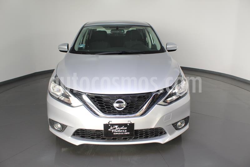 Nissan Sentra Advance Aut usado (2019) color Plata precio $214,500