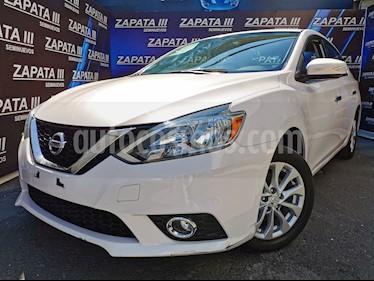 Nissan Sentra Advance Aut usado (2017) color Blanco precio $190,000